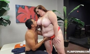 New bbw non-professional curious clover copulates for 1st time