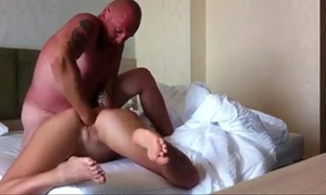 Painful fisting on the daybed