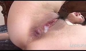Pretty oriental anal