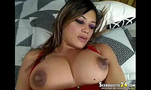 Beautiful blonde ranae in sexcam do sophisticated on skanks with
