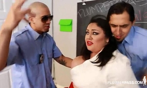 Slut large tit student julia sands doubled teamed by teachers