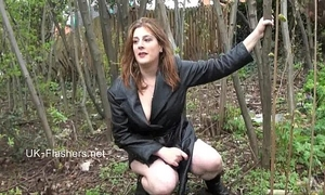 Amateur hottie jannas public masturbation and outdoor marital-device toying