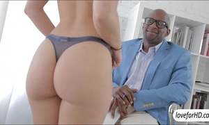 Lovely playgirl remy lacroix receives her taut butt group-fucked by a huge dark 10-Pounder