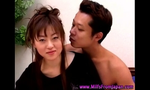Asian milf black cock sluts getting it on
